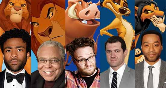 The Lion King Remake cast