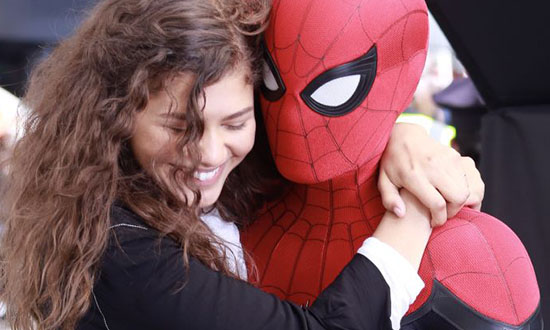 spiderman farfromhome trailer