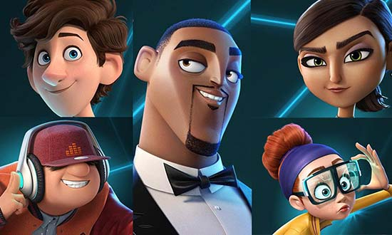 spies in disguise will smith tom holland disney blue sky