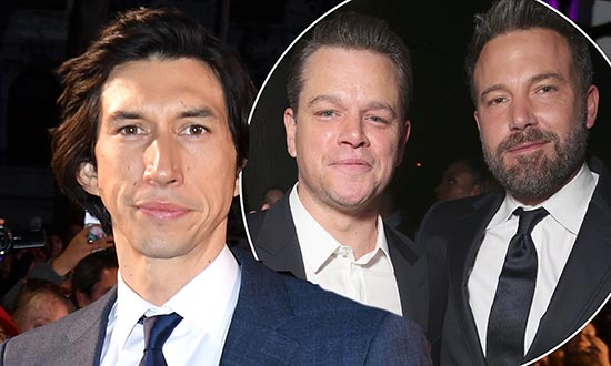 adam driver ben affleck matt damon ridley scott