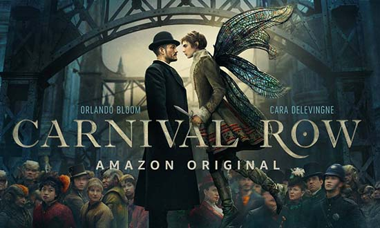 carnival row orlandobloom cara delevingne amazon