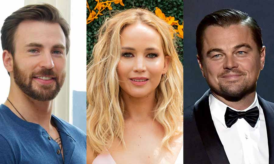 chris evans adam mckay don t look up jennifer lawrence