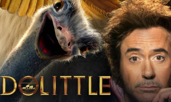 dolittle 2020 robert downey jr universal