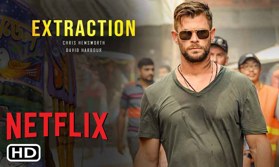 extraction netflix chris hemsworth russo brothers