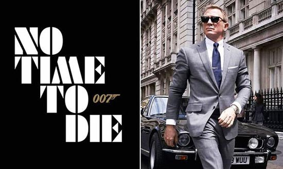 james bond 25 daniel craig 007 no time to die