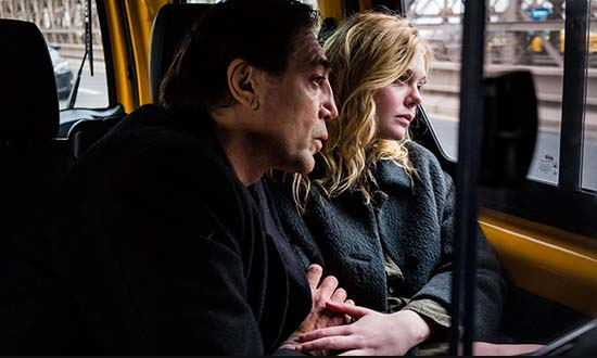 javier bardem elle fanning the road not taken