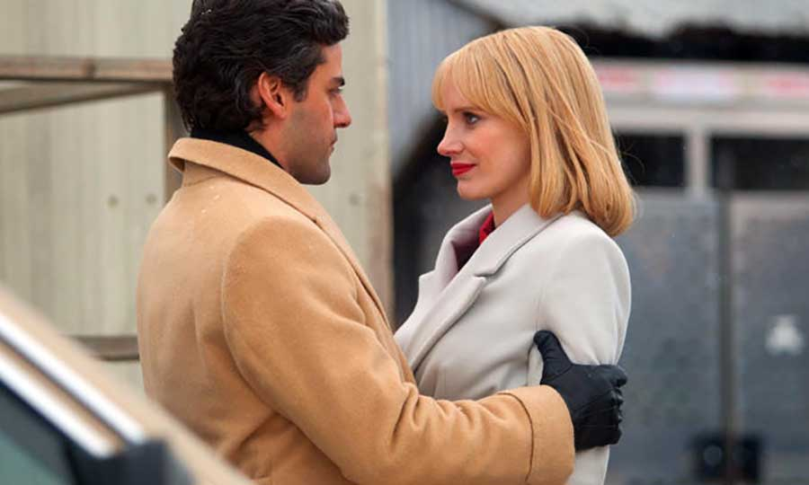 jessica chastain oscar isaac hbo serie marriage