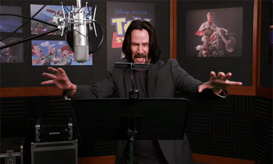 keanu reeves toy story 4 disney