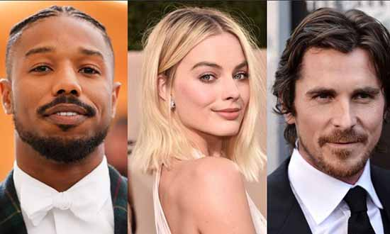 margot robbie michael b jordan christian bale