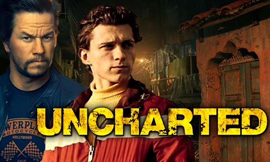 uncharted mark wahlberg tom holland