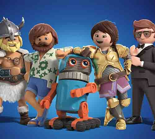 'Playmobil: The Movie' Daniel Radcliffe y Adam Lambert en una singular aventura